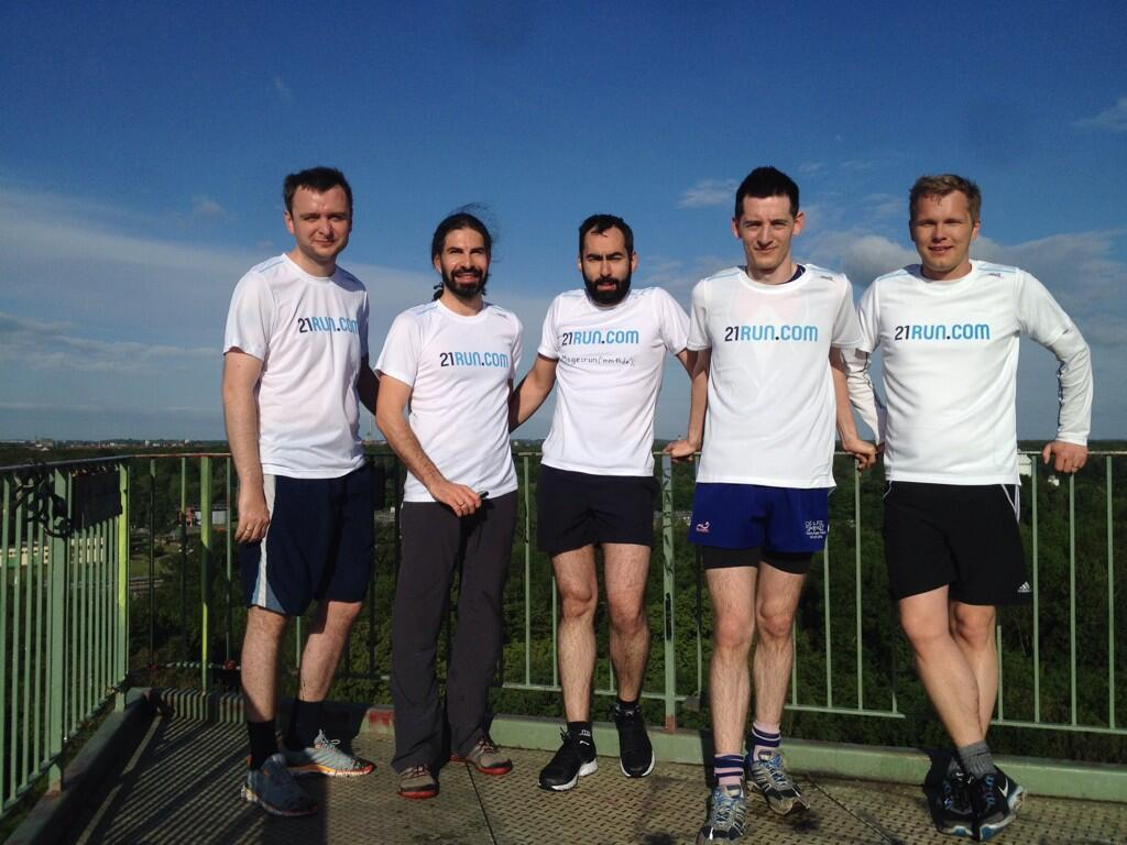 Running group from Meet Magento Germany 2014