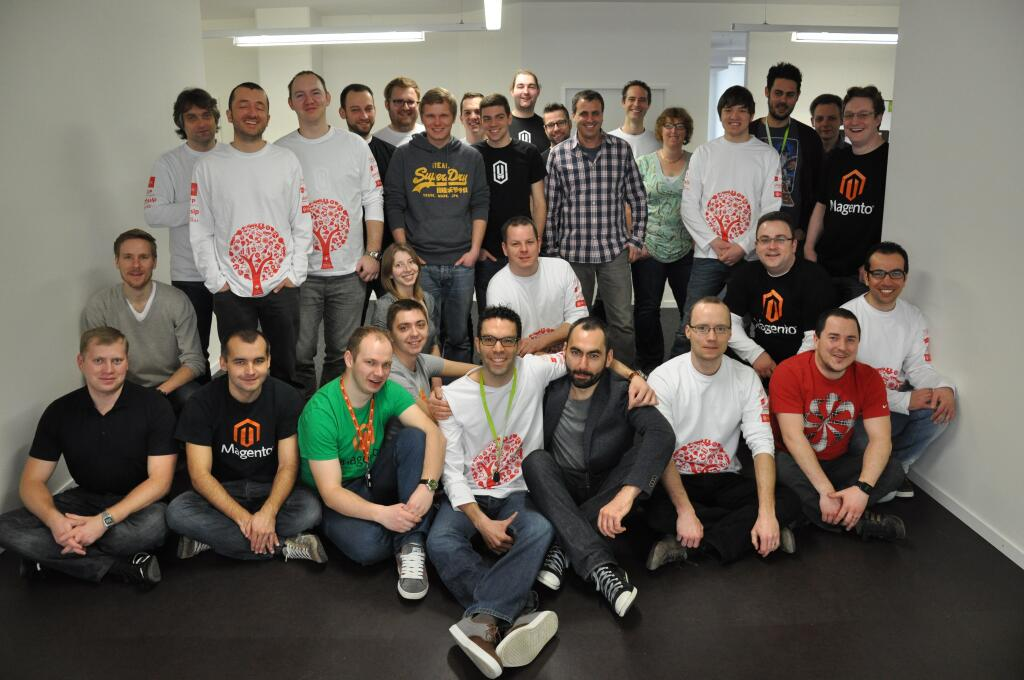 All attendees at the hackathon Zurich in March 2013